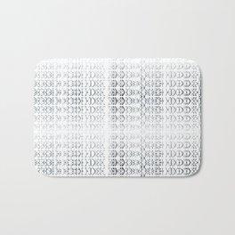 joy alphabet [ need more toner ] Bath Mat