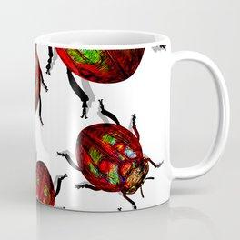 Agitated Lady Beetles Coffee Mug