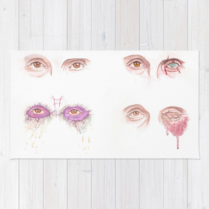 EYES - Mads' characters Rug