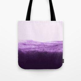 Amethyst Watercolor Crush Tote Bag