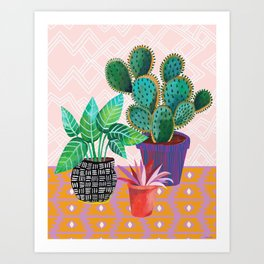 Plants Are Life Art Print