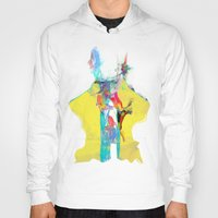 archan nair Hoodies featuring Whispering by Archan Nair