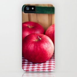 Organic Apples 3 iPhone Case