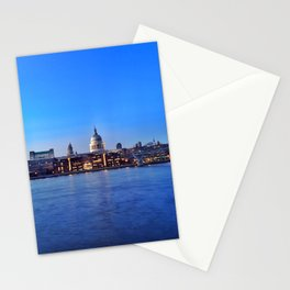 Blue St Paul's Stationery Cards