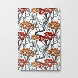 TREE CROWNS Metal Print