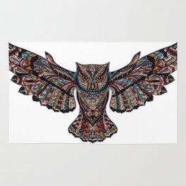 Mandala owl Rug