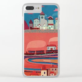 my village Clear iPhone Case
