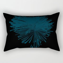explosion de color Rectangular Pillow