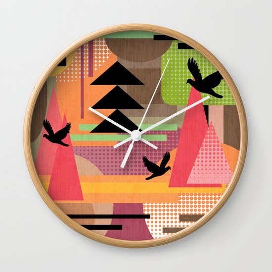 3 Flew Over. Wall Clock