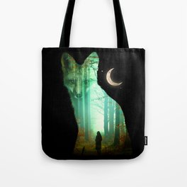 Guardian Fox Tote Bag