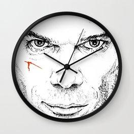 Dexter Slice of Life Wall Clock