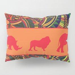 African Tribal Pattern No. 16 Pillow Sham