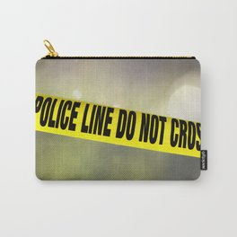 Police Line Do  Not Cross Carry-All Pouch