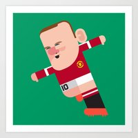 WR10 Mini | The Red Devils Art Print