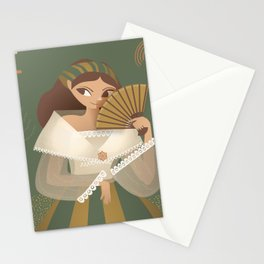 Harana (Serenade) (1/2) Stationery Cards