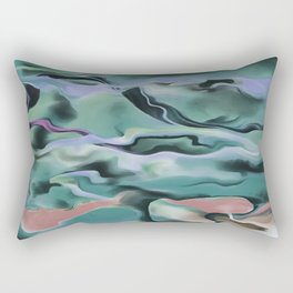 Waves In Harmony Rectangular Pillow
