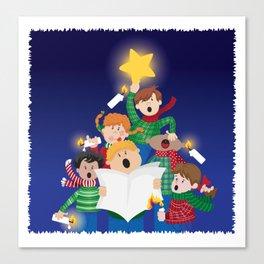 Children's Christmas Canvas Print