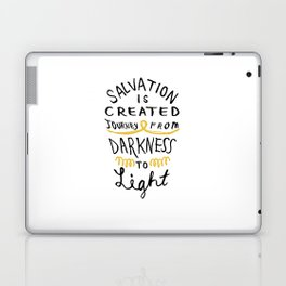 Salvation is Created Laptop & iPad Skin