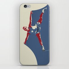 Skates for Victory iPhone & iPod Skin