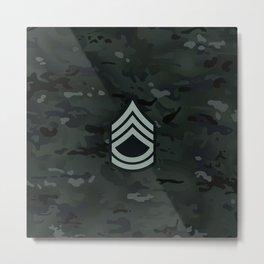 Sergeant First Class (Urban Camo) Metal Print