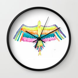 Come Fly a Kite Wall Clock