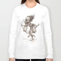 warrior Long Sleeve T-shirts featuring Warrior by Shane Acuff