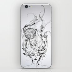 Divine Mother Moon Earth iPhone & iPod Skin