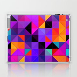 Purple and orange 2 Laptop & iPad Skin