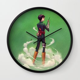 Rock Lee Wall Clock