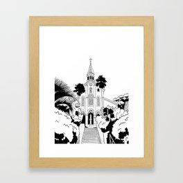 Nagasaki - Oura Church Framed Art Print