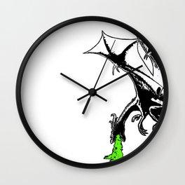 Dragon's Sickness Wall Clock