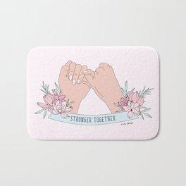 Stronger Together Bath Mat