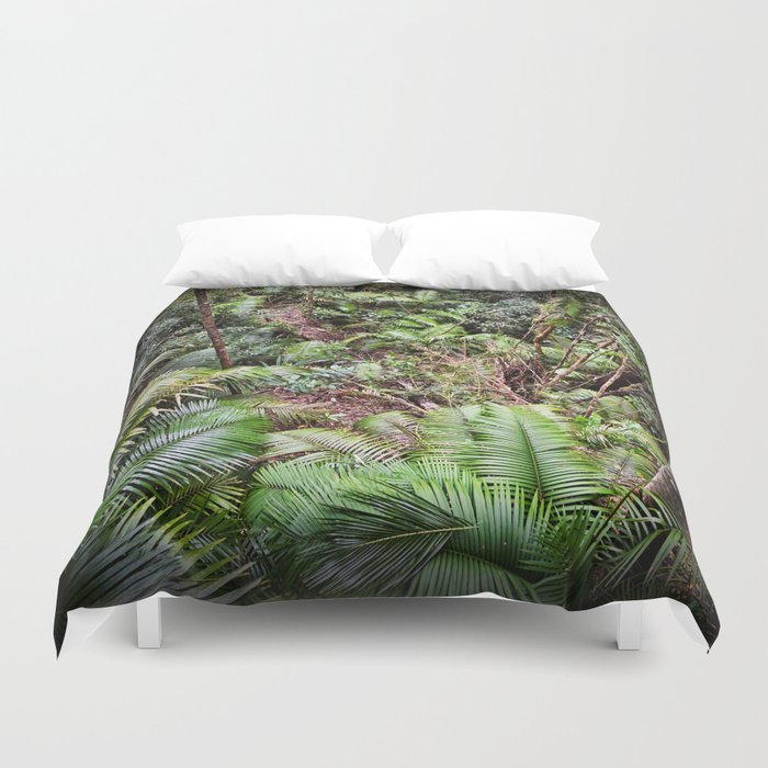 Rainforest Jungle Duvet Cover By Hereswendy Society6