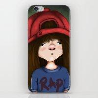 rap iPhone & iPod Skins featuring rap by Pınar Bibin