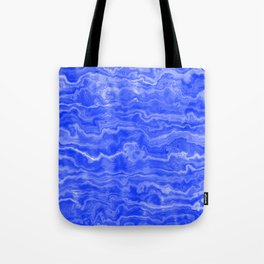 Egyptian Marble, Lapis Blue Tote Bag