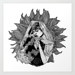 Kosa Art Print