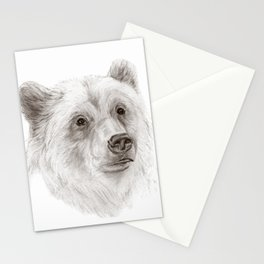 Grizzly :: A North American Brown Bear Stationery Cards