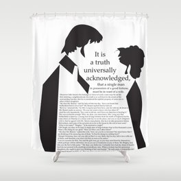 P&P Shower Curtain