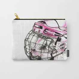 Hockey mandrill  Carry-All Pouch