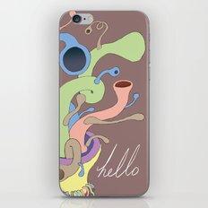Hello. iPhone & iPod Skin