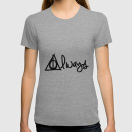 Always, Deathly Hallows, Harry Potter T-shirt