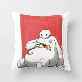 Hairy Babyyyy Throw Pillow