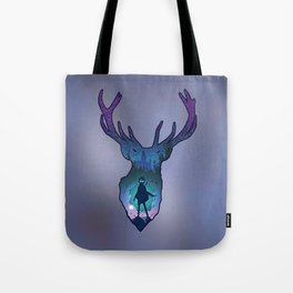 POTTER - PATRONUS ARTISTIC PAINT Tote Bag