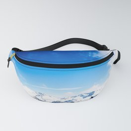 Snow and Sky Fanny Pack