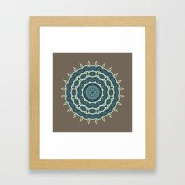 Mandala Earth 1 Framed Art Print