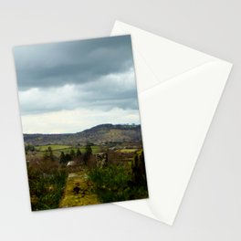 Chagford Cemetery View Stationery Cards