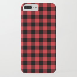 Buffalo Plaid Rustic Lumberjack Buffalo Check Pattern iPhone Case