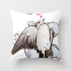 toot! | Collage Throw Pillow