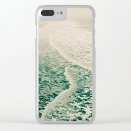 Beautiful Summer Sea Clear iPhone Case