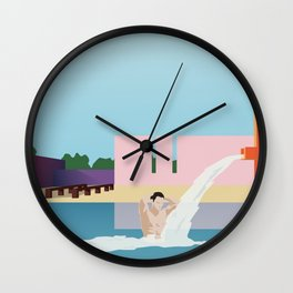 Luis Barragan S01 Wall Clock